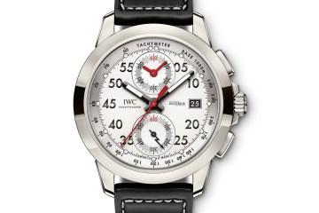 iwc uhren manufaktur schweiz limitierte sonderedition sondermodelle chronographen titan
