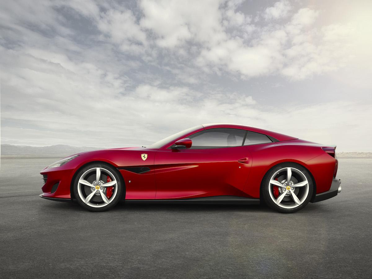 ferrari portofino cabrio cabriolet hard-top gt v8 motoren turbo achtzylinder beschleunigung technologie weltpremiere