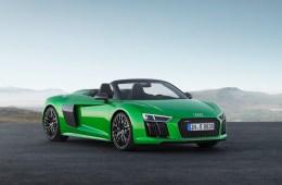 audi r8 spyder v10 plus modelle sportwagen v10-mittelmotor individualisierung fahrleistungen allradantrieb carbon