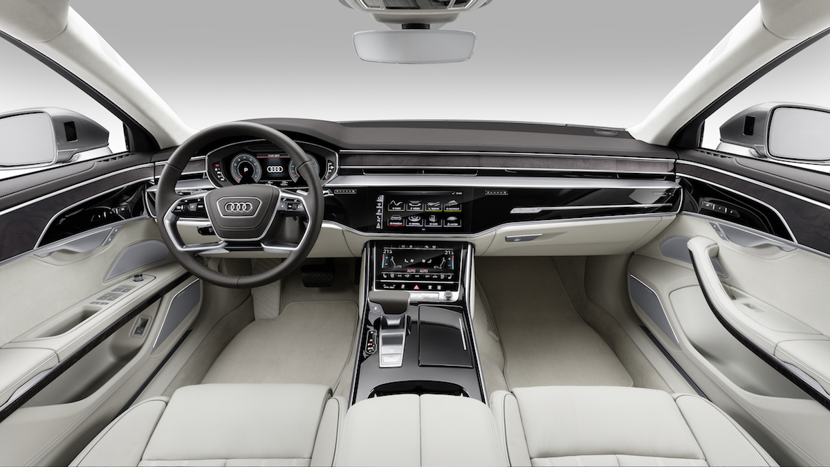 new audi a8 a8l sedan models model prices luxury interior materials bespoke automated-driving engines price