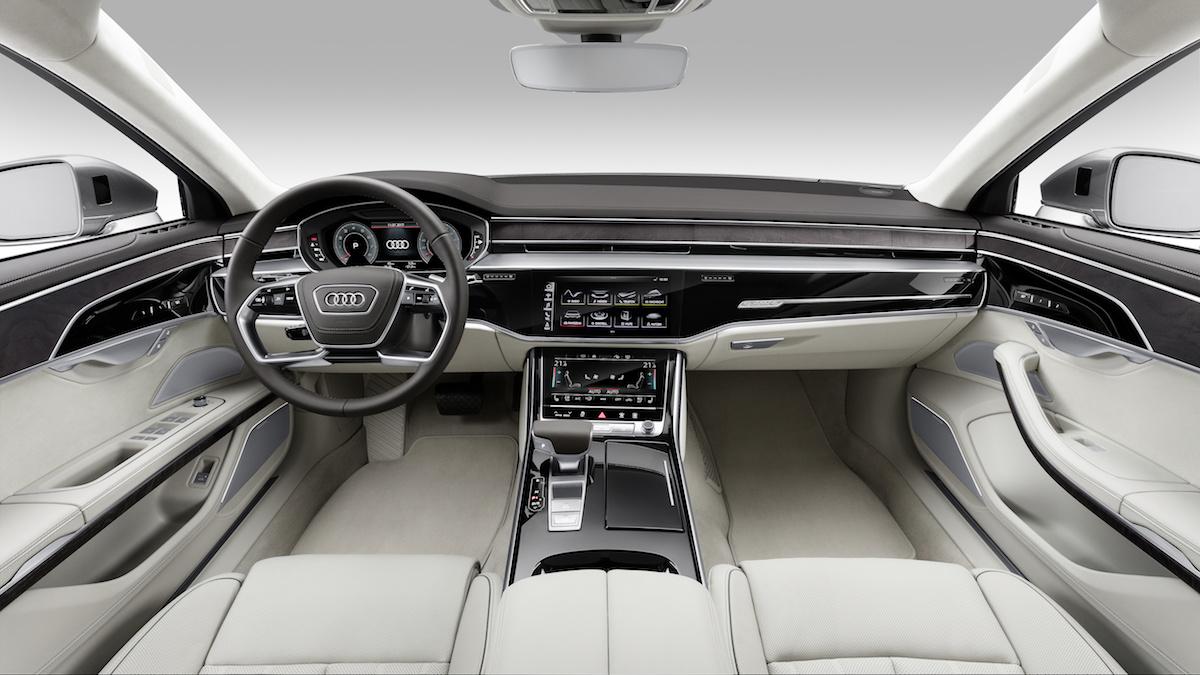 audi a8 a8-l luxus-limousine limousine neu neuheit modelle modellvarianten allradantrieb hybrid preis 2017 innenraum