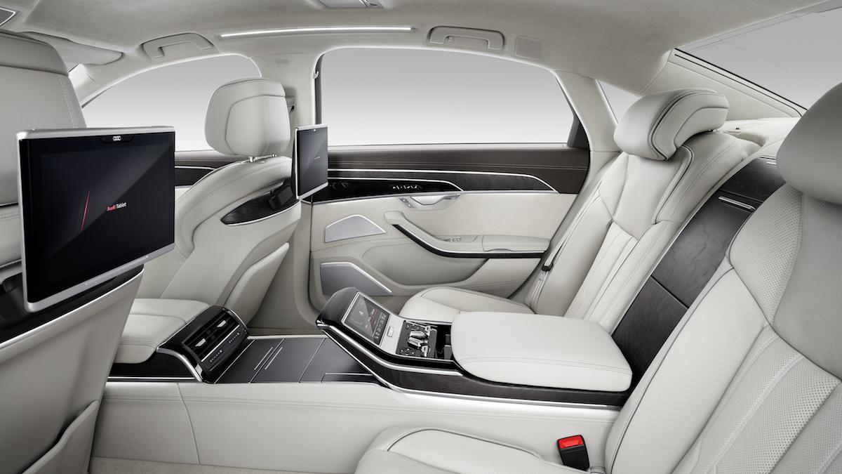 audi a8 a8-l luxus-limousine limousine neu neuheit modelle modellvarianten allradantrieb hybrid preis 2017 automatisiertes fahren