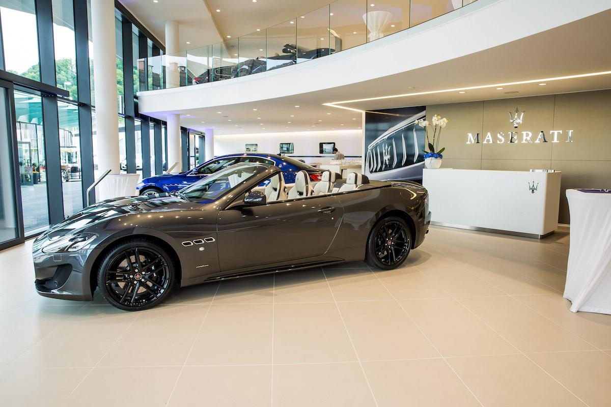 maserati vertretung maserati-vertretung schweiz luzern showroom premium luxus modelle sportwagen ghibli
