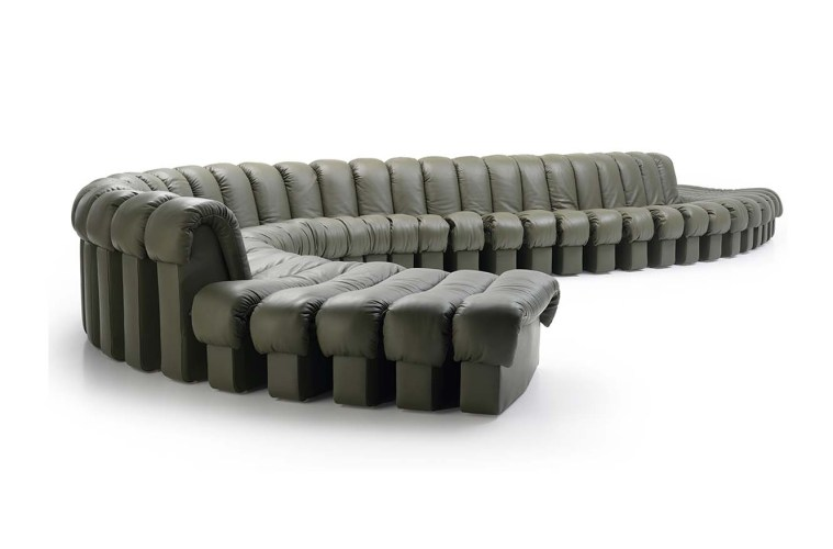 de sede ds 600 das legend re sofa feiert sein 45 j hriges jubil um. Black Bedroom Furniture Sets. Home Design Ideas