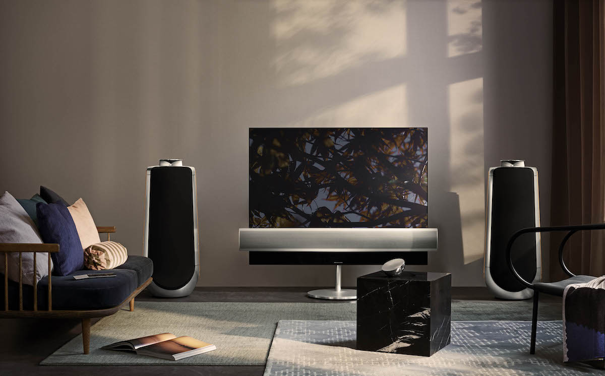 bang & olufsen tv-geräte fernseher sound lautsprecher high-end streaming