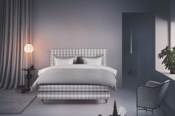 Schlafzimmer Boxspringbett taupe Design Bett Möbel Style