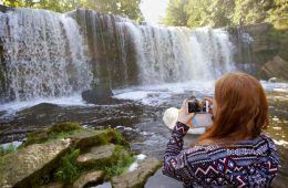 Estland Natur Schönheit bewundern