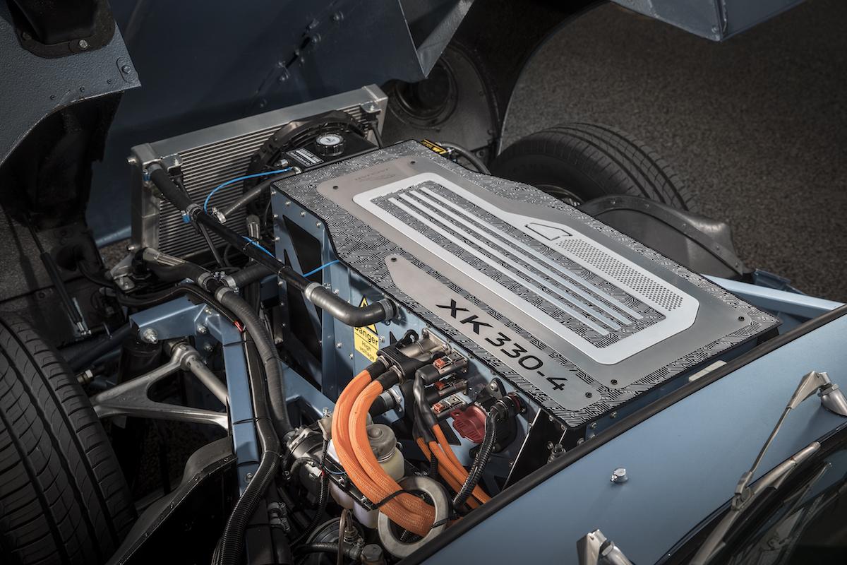 jaguar e-type elektroantrieb reichweite fahrleistungen classic roadster elektrisch