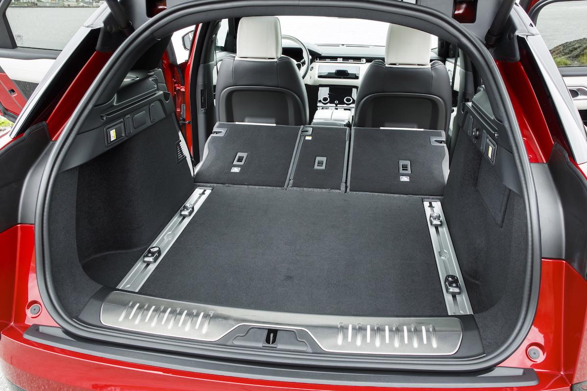 range rover velar new models innovation luxury premium suv sports utility vehicle luggage compartment