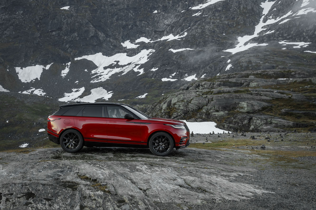 range rover velar new models innovation luxury premium suv sports utility vehicle supercharged