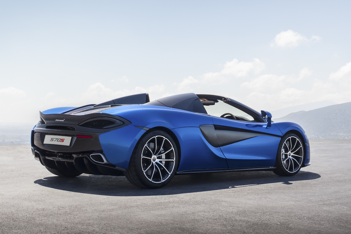 mclaren 570s spider coupe supercar sportscars cars models convertible convertibles hardtop driving acceleration sound