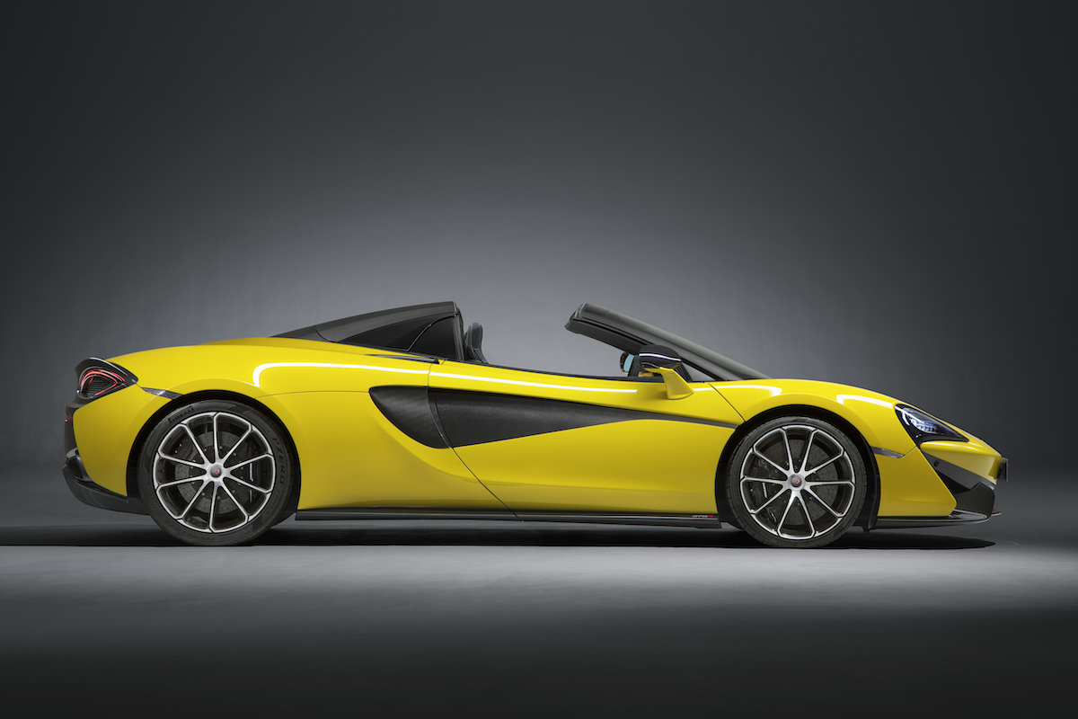 mclaren 570s spider coupe supercar sportscars cars models convertible convertibles hardtop driving acceleration drift