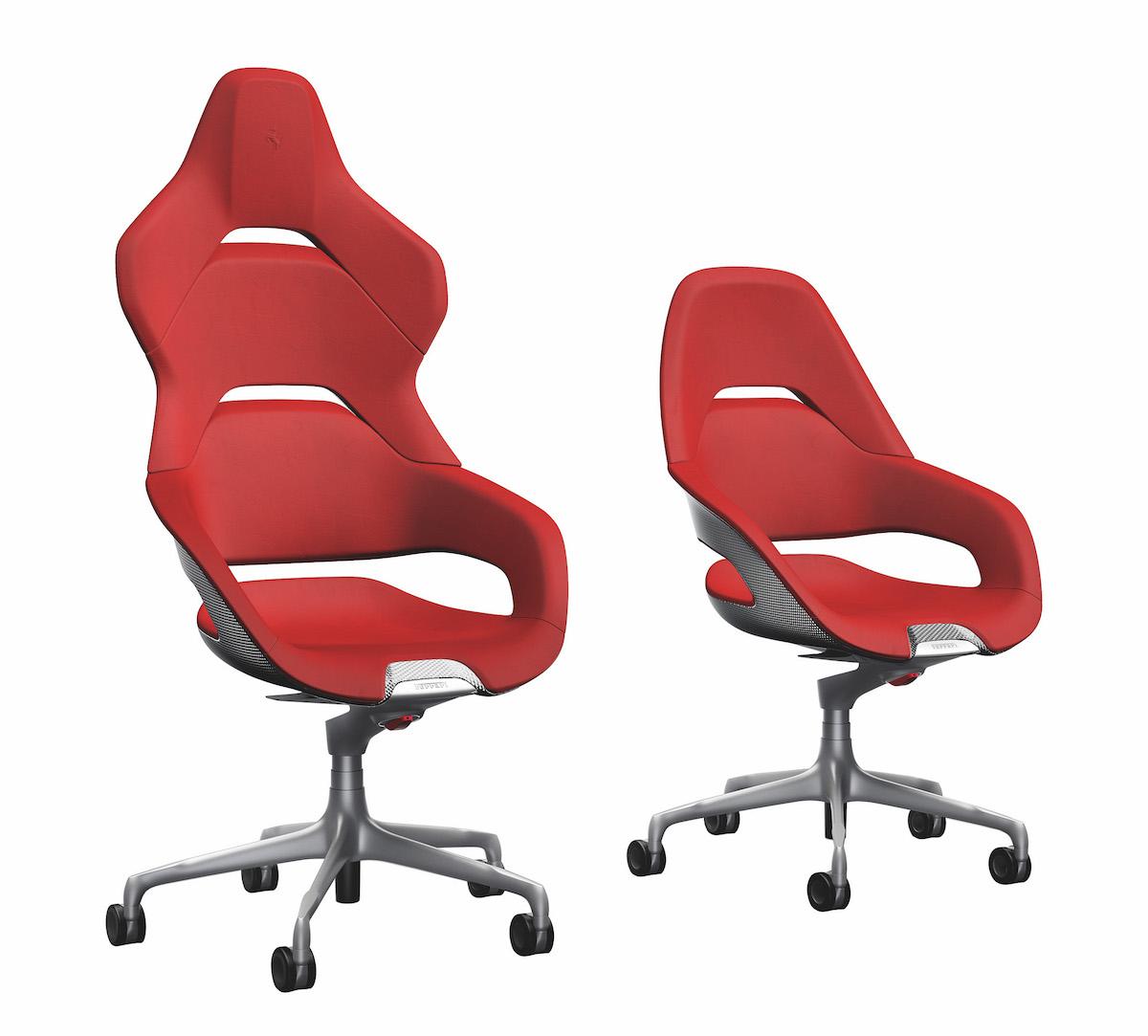 Ferrari And Poltrona Frau Present The New Office Chair Proudmag Com