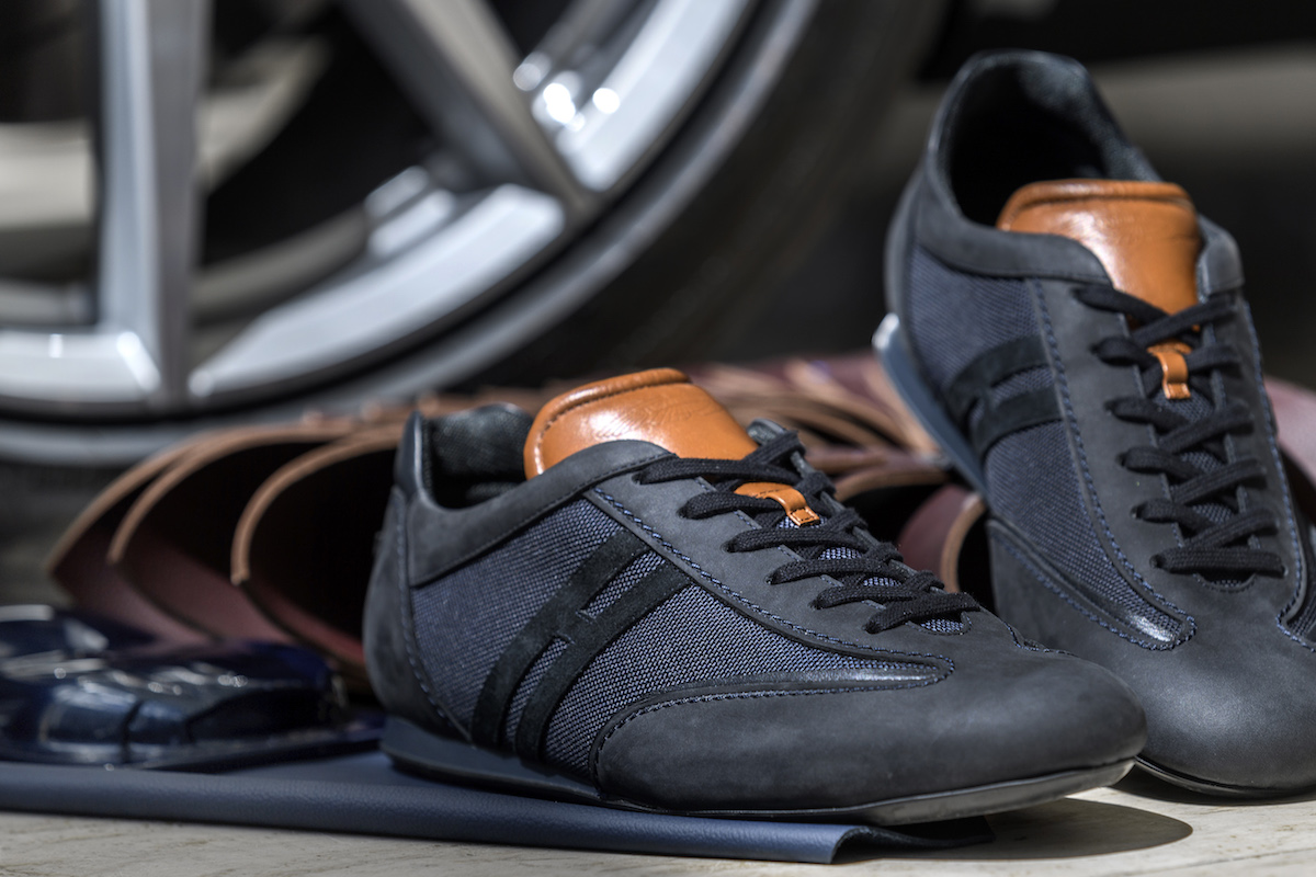 aston martin hogan sneakers shoes leather luxury limited edition colours footwear brand
