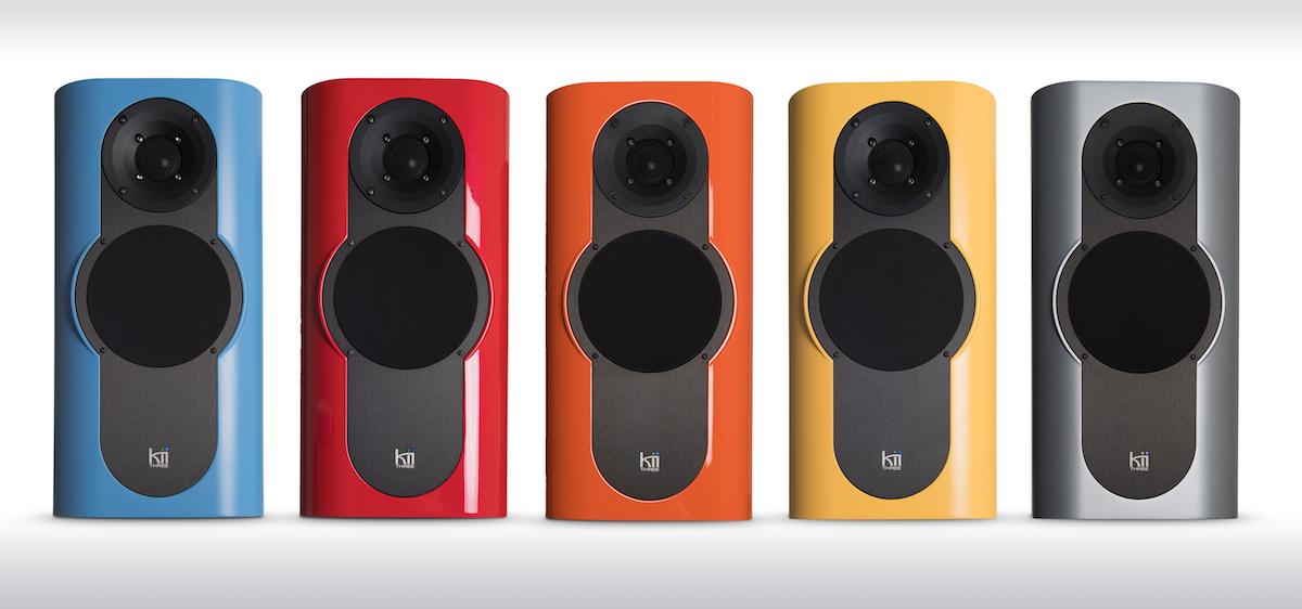 high-end lautsprecher kii-audio audio premium farben speaker