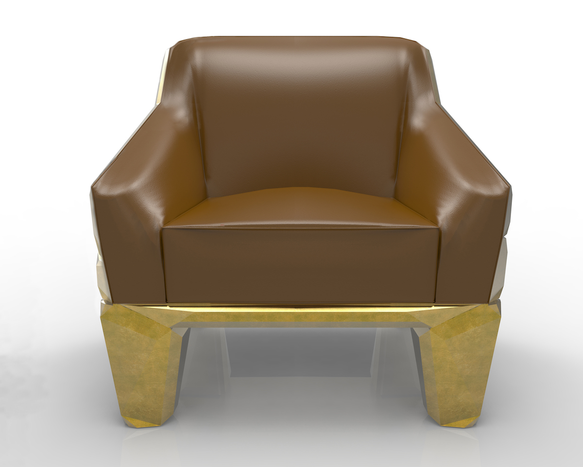 luxurious luxury furniture unique pieces of art handcrafted new golden armchair chairs
