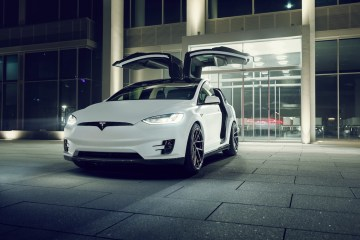 novitec tesla model x luxury cars customization options suv aerodynamic styling kit