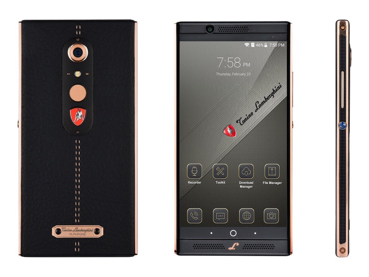 lamborghini smartphones accessory luxury products brand lightweight design unique smartphone