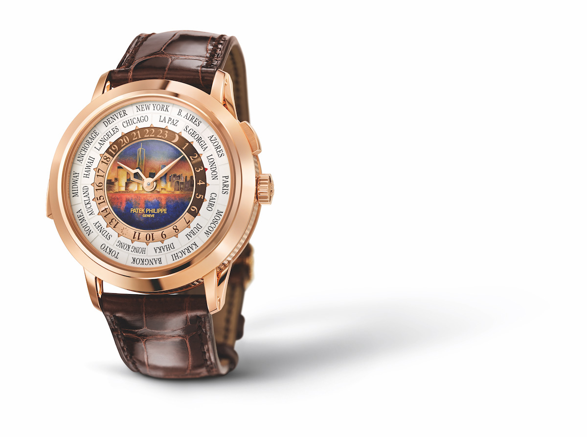 patek philippe world time minute repeater special edition new grand complication special-edition limited-edition leather strap