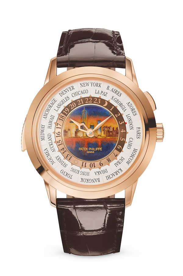 patek philippe world time minute repeater special edition new grand complication special-edition limited-edition rose-gold