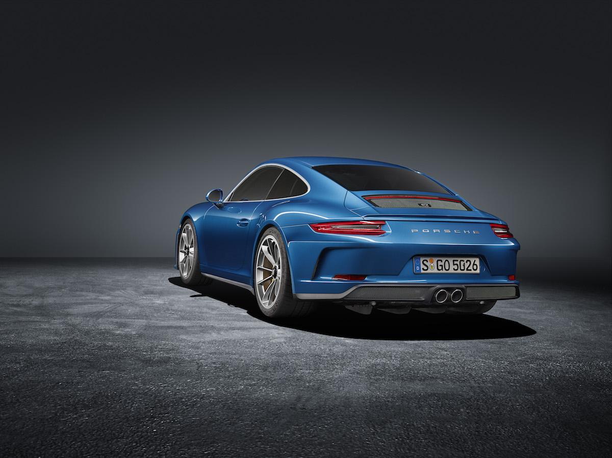 porsche 911 gt3 modelle ohne heckflügel heckspoiler ausstattungsvarianten innenausstattung serienausstattung tieferlegung