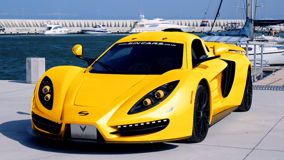 sin-cars sin-r1 super sports car models exotic cars manufacturers carbon