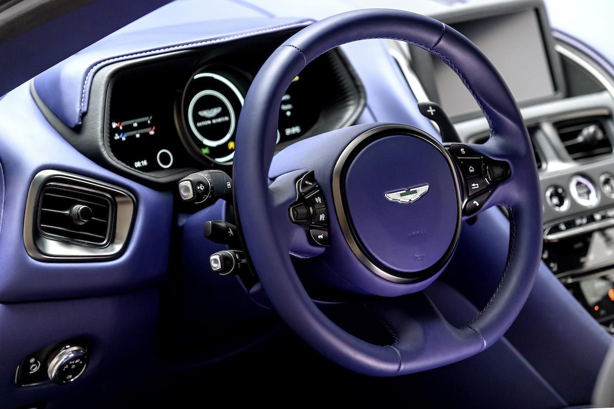 aston martin db11 v8 v12 turbocharged engines performance luxury interior