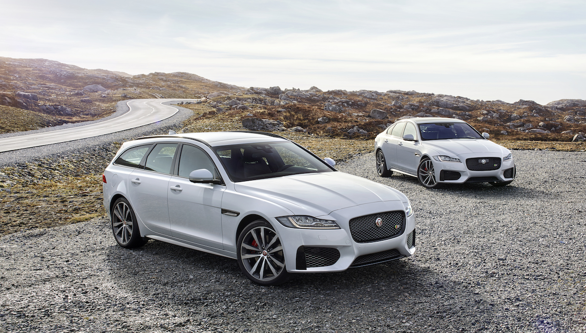 new jaguar xf sportbrake models saloon premium supercharged cabin safety space sporty