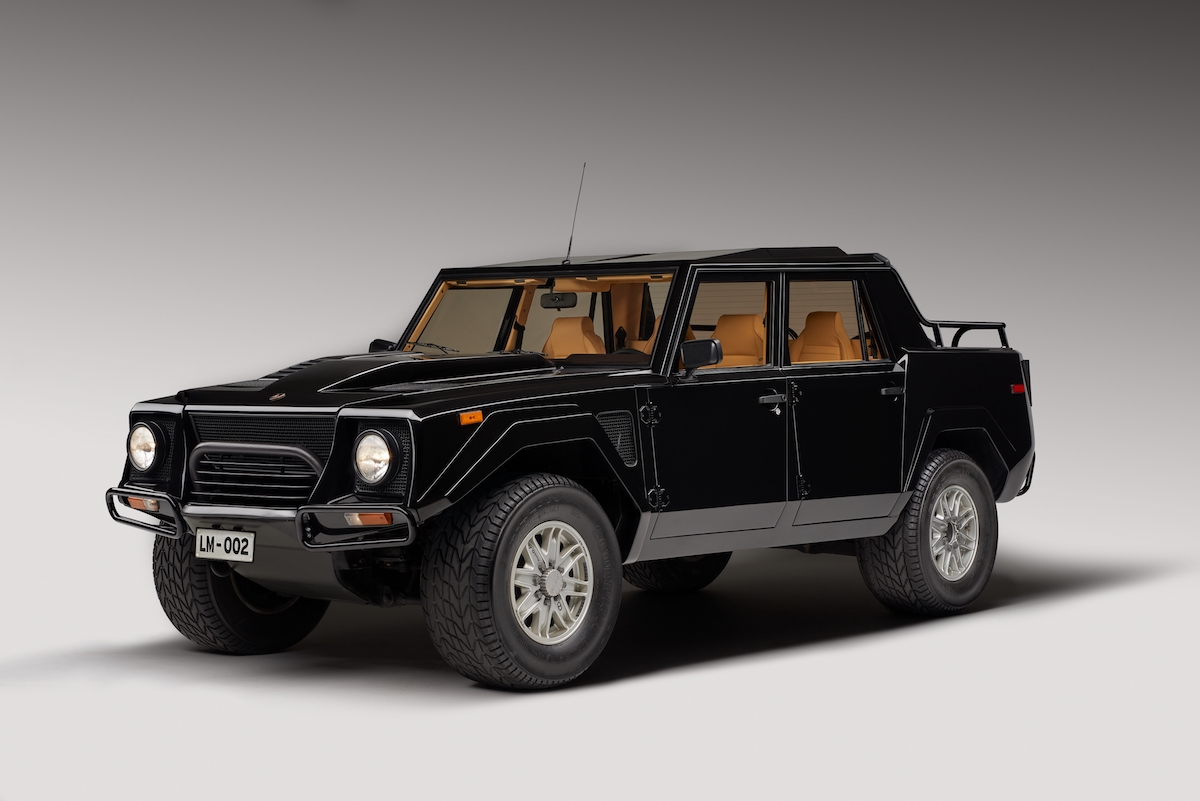 Lamborghini Looks Back On Its First Suv The Lm002 Proudmag Com