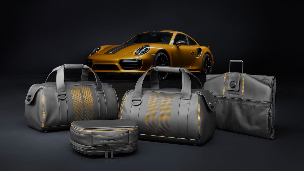 porsche 911 turbo s model models limited special sports car luggage