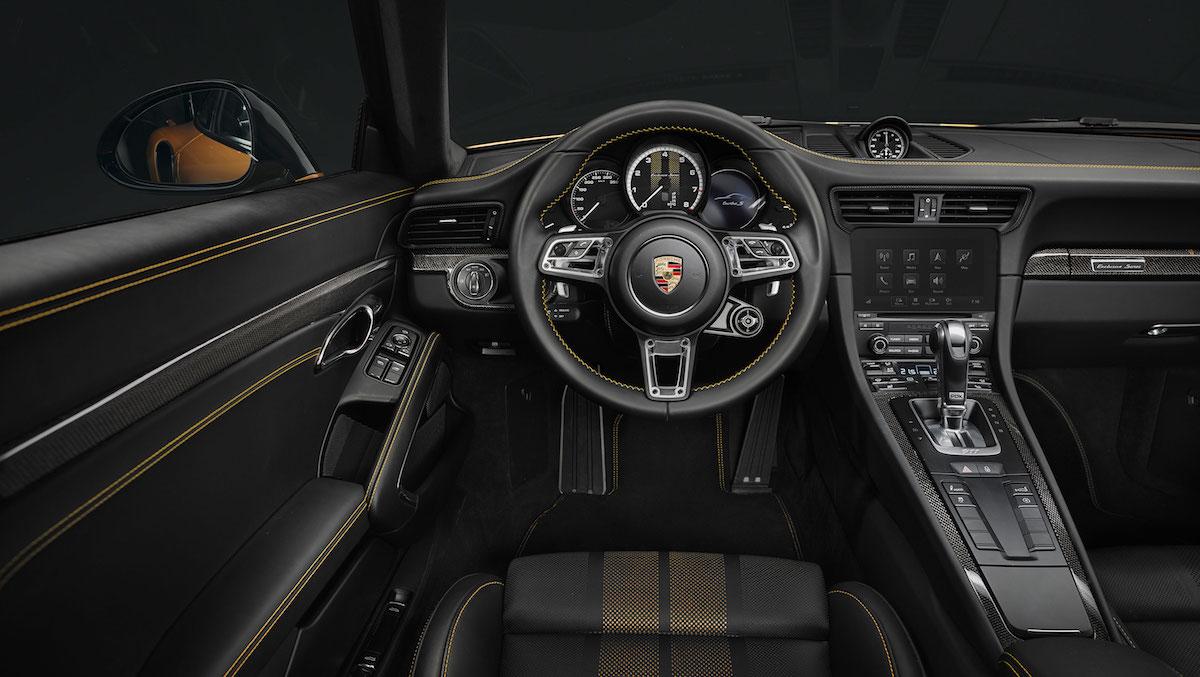 porsche 911 turbo s model models limited special sports car cockpit