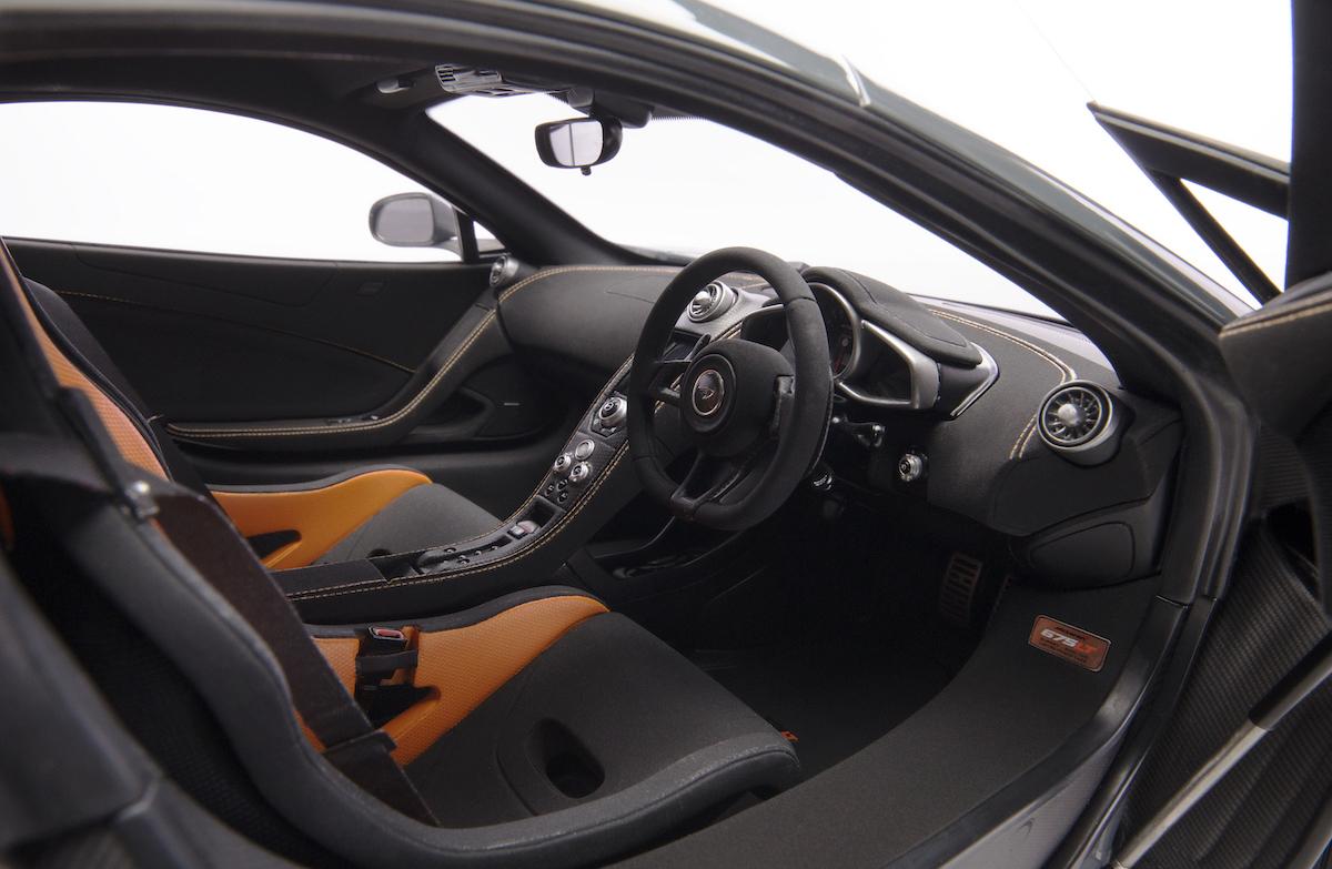 amalgam manufacturer high quality luxury luxurious model cars models scale-models model-cars sportscars race-cars formula 1 mclaren 675lt interior cockpit