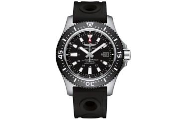 breitling luxury watches men gentlemen diving blue black superocean 44