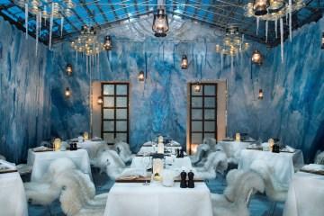 Ein Igloo im Widder Hotel Zürich