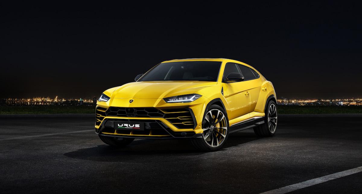 lamborghini urus suv sport utility vehicle offroad first model luxury segment driving