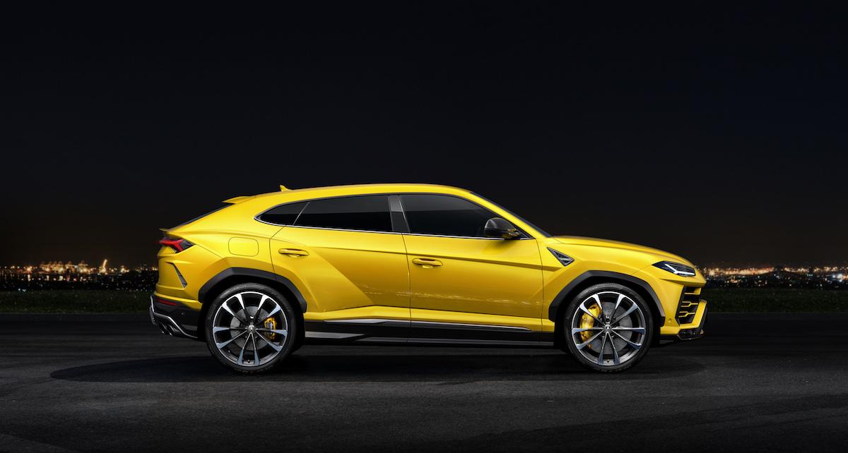 lamborghini urus suv sport utility vehicle geländewagen neu neuheit sportwagen modelle offroad seitenansicht