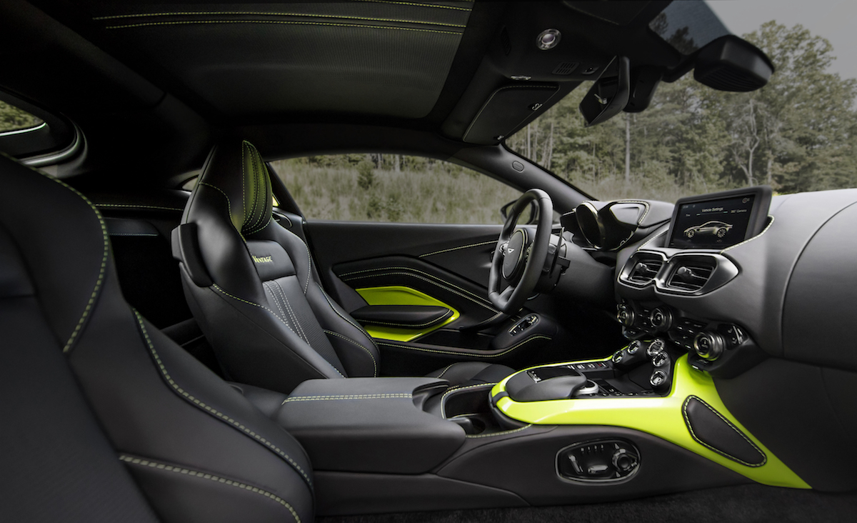 aston martin vantage v8 new sports cars models design performance price uk usa sale interior cockpit