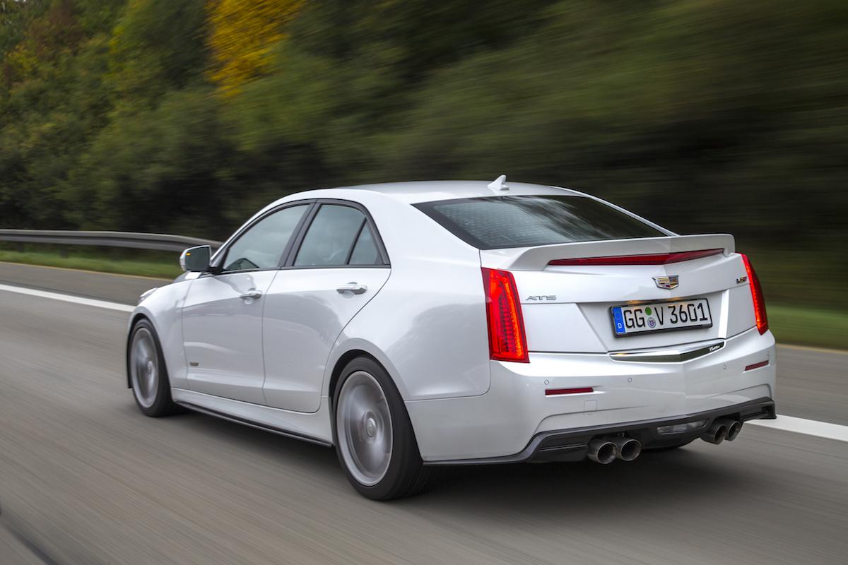 cadillac ats-v ats v-modelle v-serien luxuslimousinen luxus-limousinen limousinen luxus premium sportwagen fahrzeuge preise