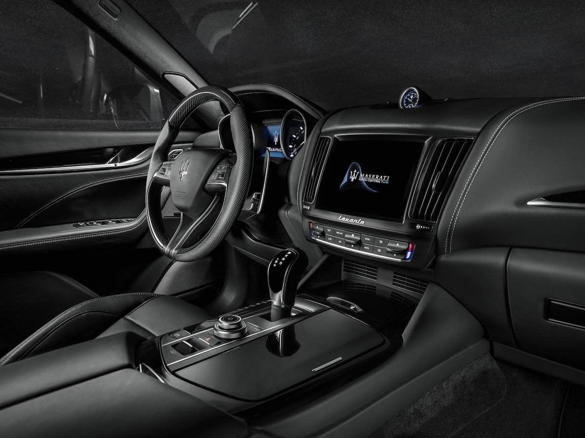 maserati levante levante-s dieselmotor benzinmotor modelle 2018 suv geländewagen versionen serienausstattung innenraum