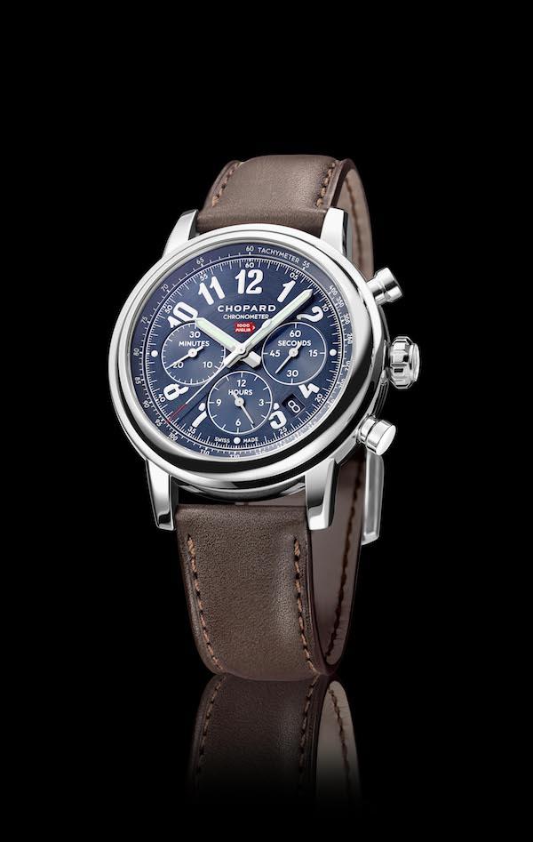 chopard chronographen chronograph mille miglia limitiert limitierte herrenuhren luxusuhren herren männer pilotenuhren automobil rennsport limited edition sportuhren sportliche uhren edelstahl