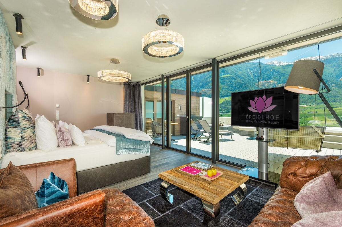 preidlhof luxushotel südtirol wellnesshotels luxushotels spa wellness luxushotels aktivurlaub wellnessurlaub mountainbike