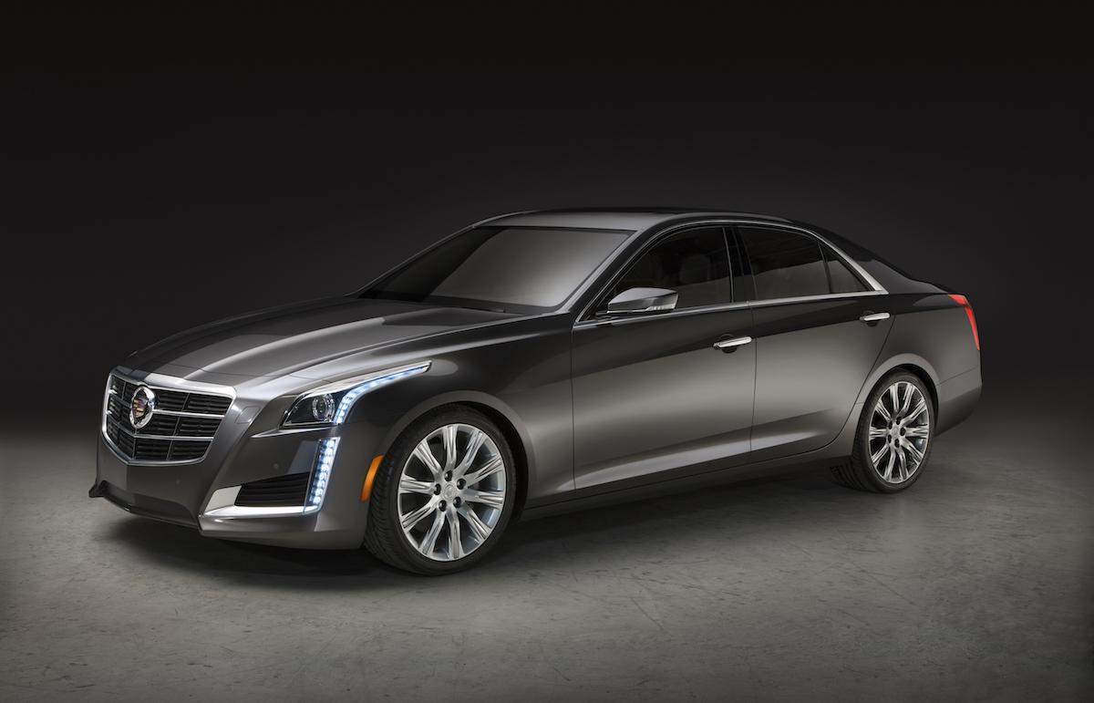 cadillac cts sedan models premium luxury new