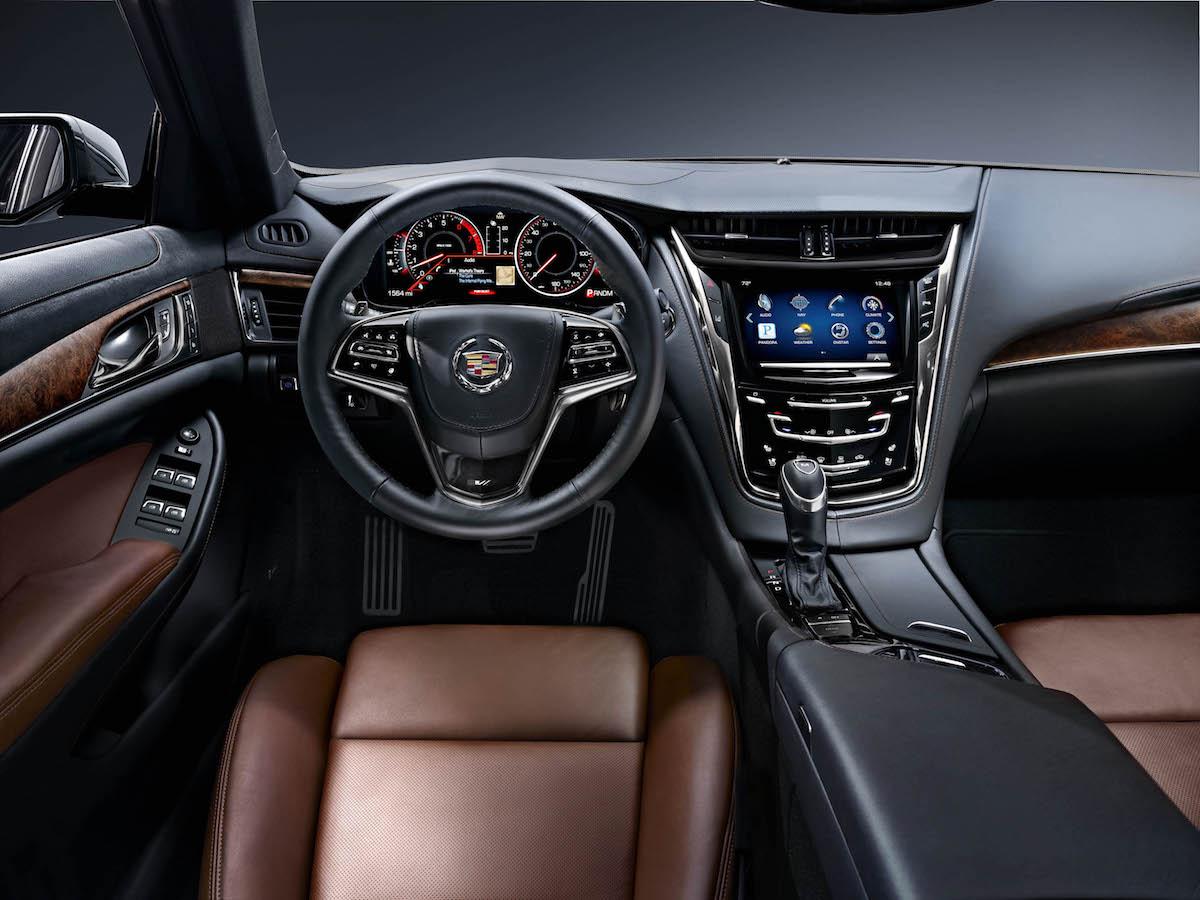 cadillac cts sedan models premium luxury cockpit