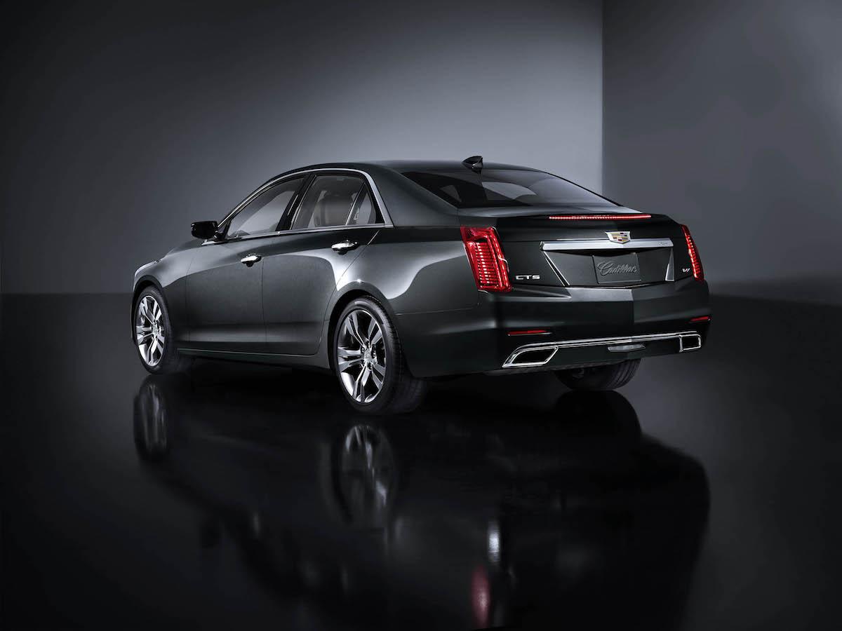 cadillac cts sedan models premium luxury prices