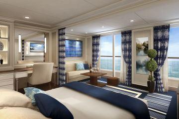 Concierge Suite auf einem Schiff der Regent Seven Seas Cruises (Foto: Regen Seven Seas Cruises)