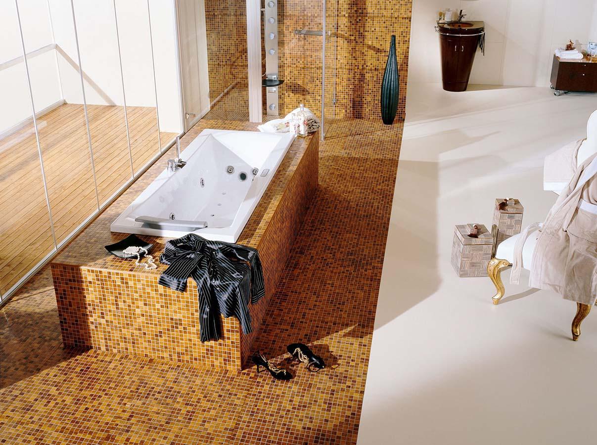 Parkett Im Bad Und Küche : Mosaik parkett für bad oder küche von graf proudmag