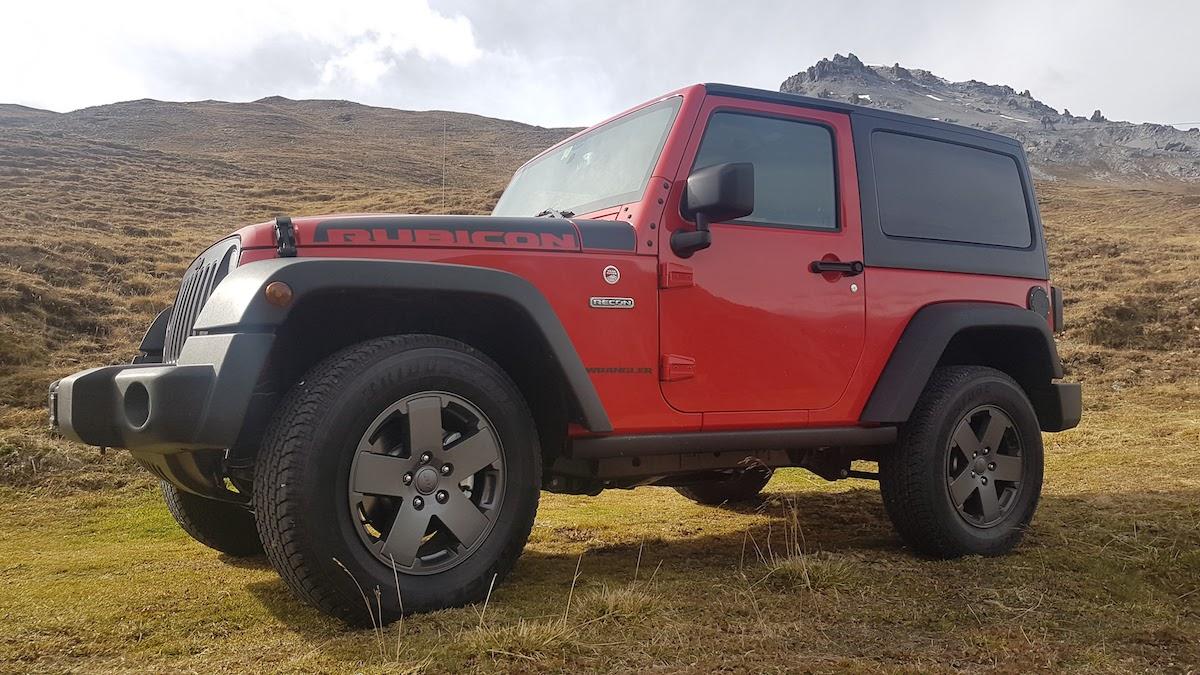 jeep wrangler rubicon recon suv 4x4 offroad offroader geländewagen modelle sondermodelle sondereditionen