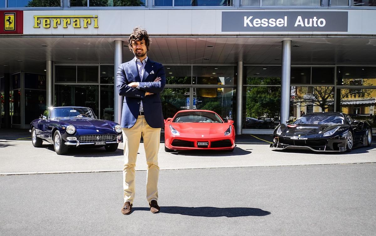 ferrari dealership switzerland lugano zug swiss representation kessel auto business partner ronnie-kessel