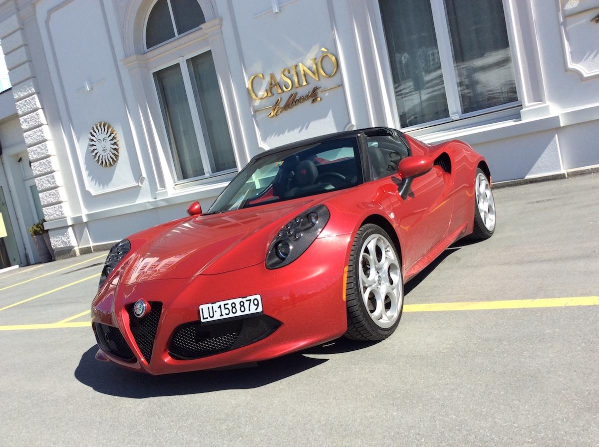 alfa romeo 4c spider testbericht fahrbericht schweiz sportwagen modelle motoren ausstattung cabrio cabriolet online magazin automobil fahrbericht testbericht