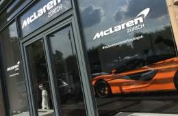 mclaren vertretung sportwagen schweiz garage verkauf handel garage schmohl ag